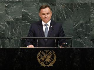 """""""Pomagamy uchodźcom, troszczymy się o środowisko"""". Co jeszcze powiedział Andrzej Duda na forum ONZ?"""