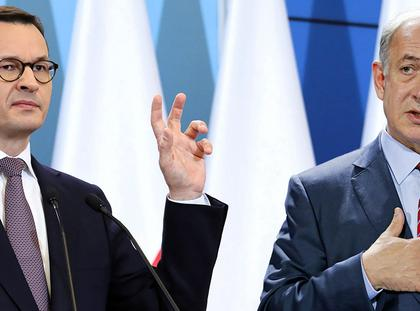 Mateusz Morawiecki Benjamin Netanjahu