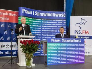 """""""Mama+"""", """"Dostępność+"""", dodatki i bony. Kaczyński rozpoczął kampanię wyborczą"""