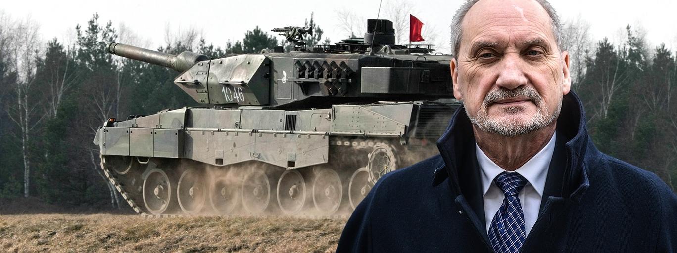 Leopard II i Antoni Macierewicz