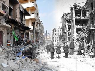 Aleppo i Homs jak Warszawa 1944
