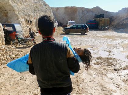 syria atak chemiczny