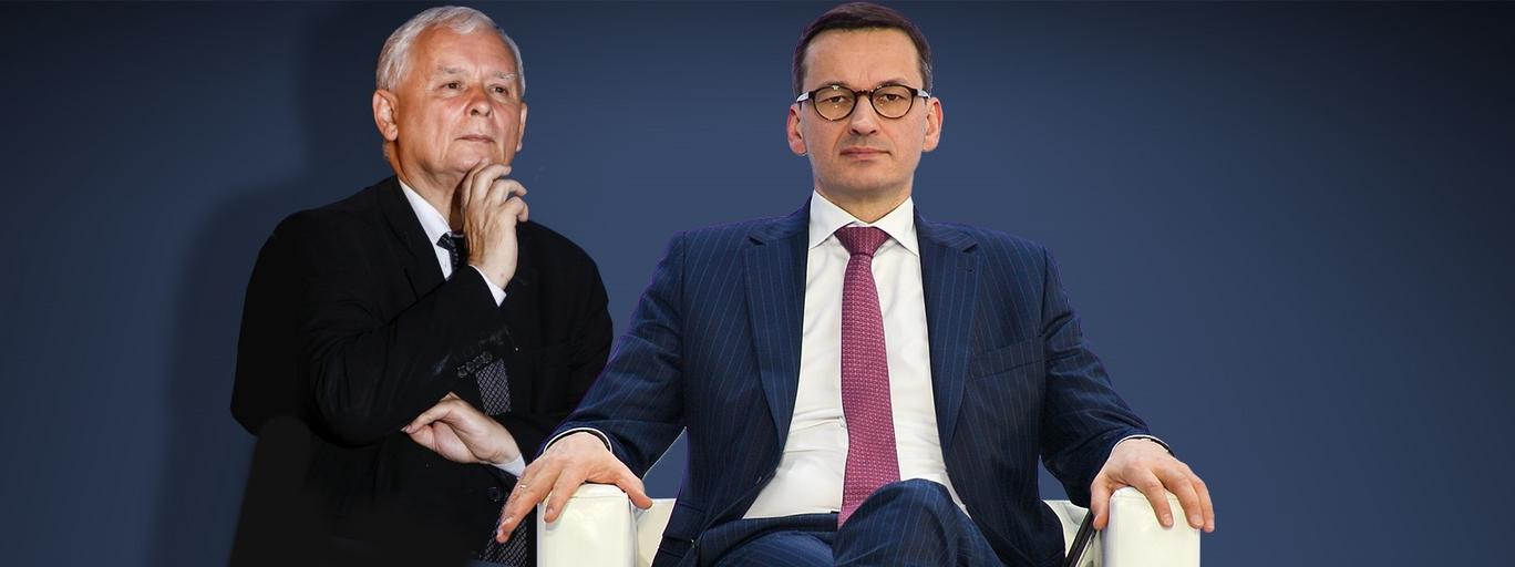 Jarosław Kaczyński Mateusz Morawiecki