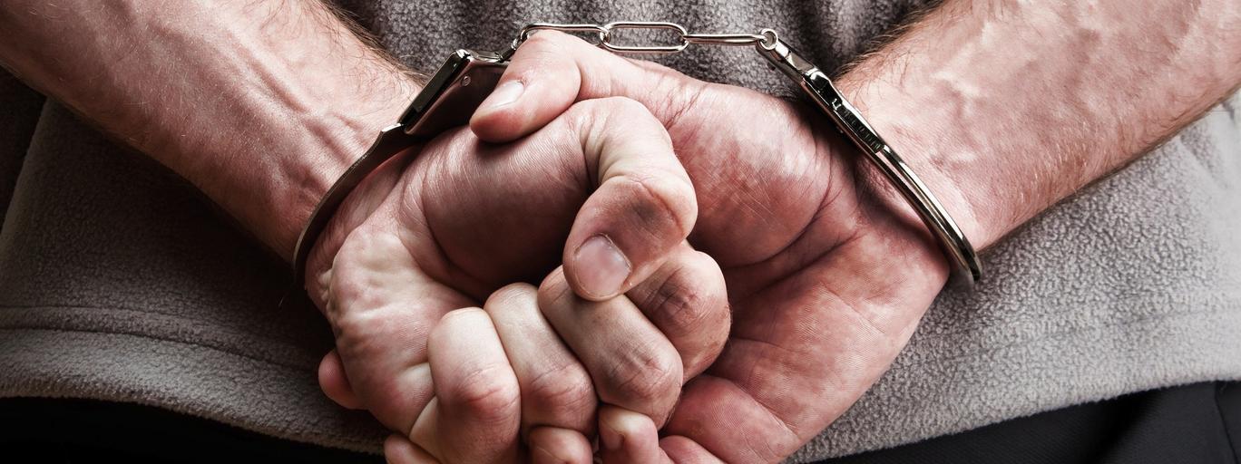 Kajdanki areszt przestępczość