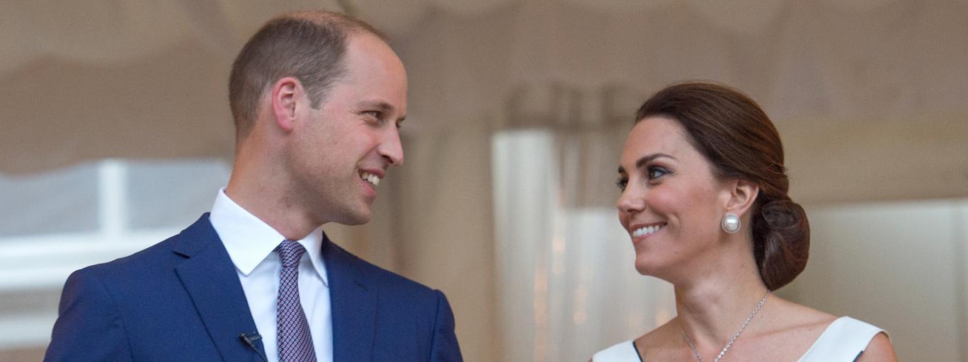 książę William księżna Kate