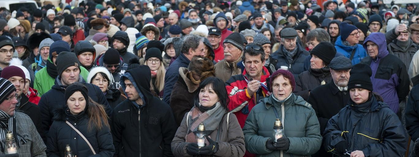 Bratislava rally commemorates murdered reporter Jan Kuciak