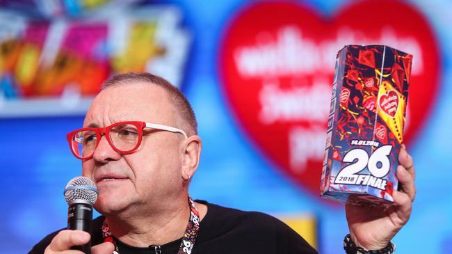 WOŚP Wielka Orkiestra Świątecznej Pomocy akcje charytatywne Jerzy Owsiak