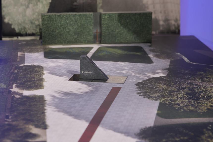 Projekt pomnika ofiar katastrofy smoleńskiej