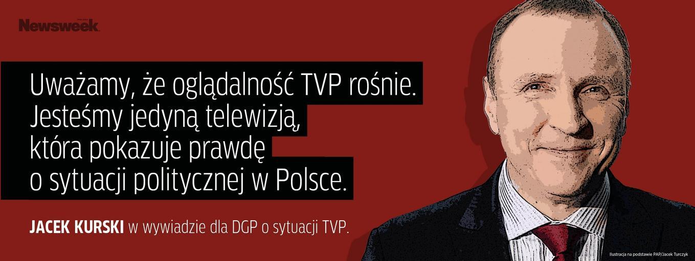 Jacek Kurski TVP media publiczne Telewizja Polska