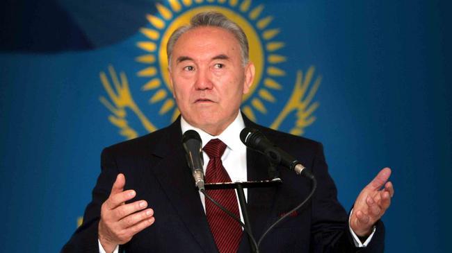 Prezydent Kazachstanu Nursułtan Nazarbajew