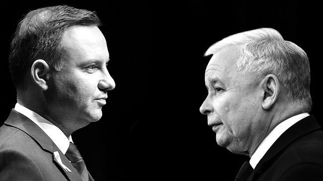 Andrzej Duda Jarosław Kaczyński polityka PiS Prawo i Sprawiedliwość