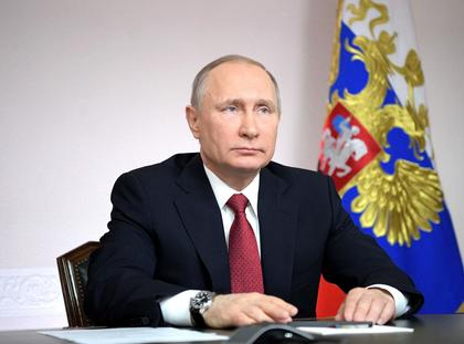 Russian President Vladimir Putin Inaugurates the First LNG Tanker from Sabetta Port in Arctic Russia