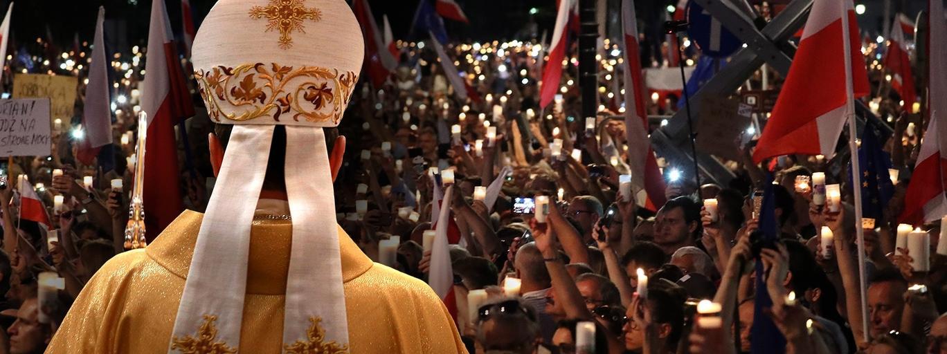 Kościół katolicki, wolne sądy, protesty
