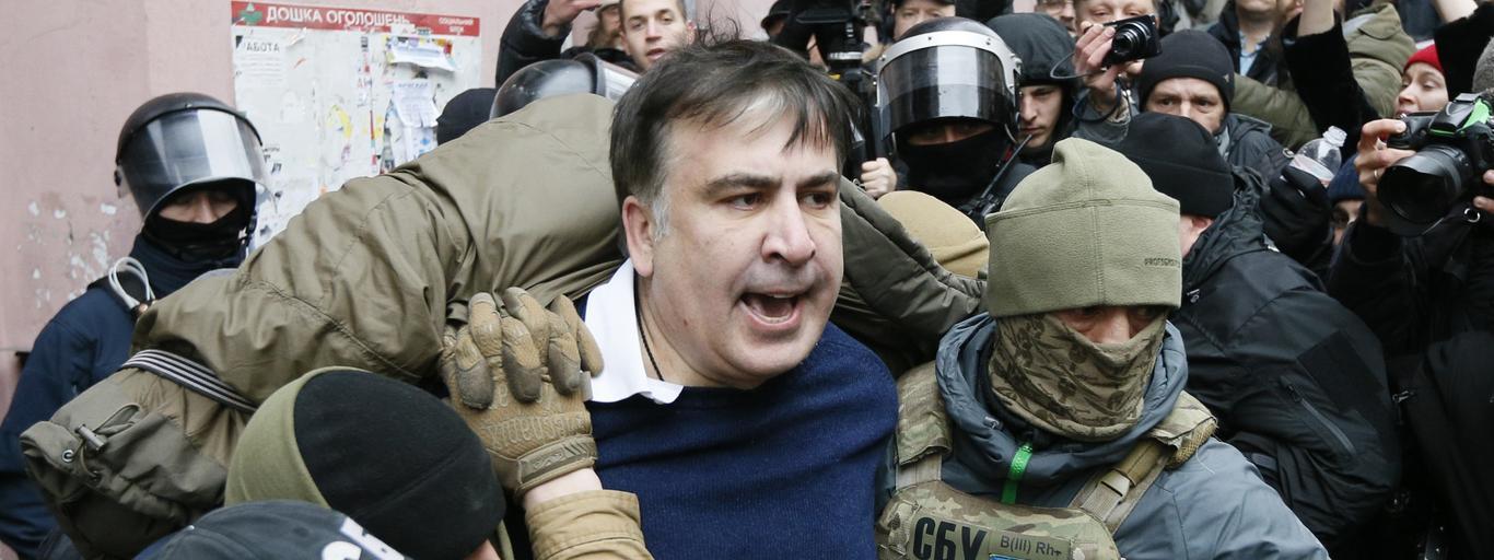 Micheil Saakaszwili Ukraina