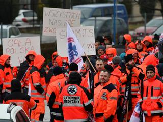 Będzie protest ratowników medycznych