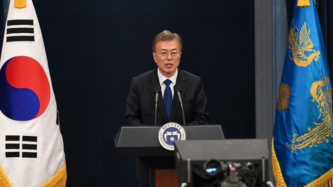 Prezydent Moon Jae-In
