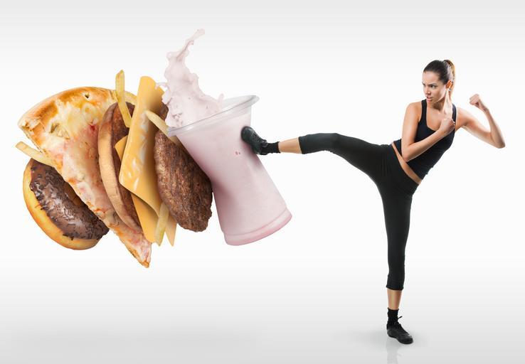 dieta, odchudzanie, niezdrowe jedzenie