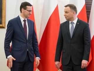 Mateusz Morawiecki Andrzej Duda