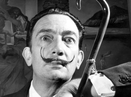 Surrealist Painter Salvador Dali 1904 - 1989