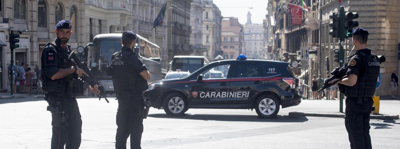 Włochy carabinieri policja