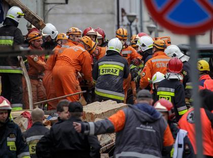 Katastrofa budowlana w Swiebodzicach
