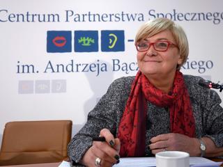 Bochniarz: Ryzyko sprawia, że Polacy umieją się jednoczyć