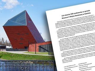 Historycy protestują wobec zmiany w Muzeum II Wojny Światowej. Bezprecedensowy list