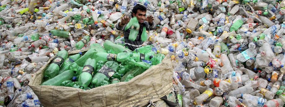 recykling butelki indie