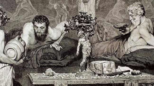 Starożytny Rzym uczta