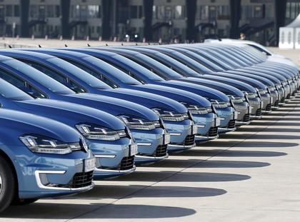 Fotografia zdjęcia Berlin Niemcy Volkswagen