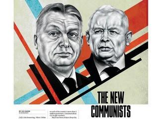 """Kaczyński i Orbán – """"Nowi komuniści"""". Mocna okładka """"POLITICO Europe"""""""