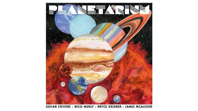 Planetarium, okładka płyty