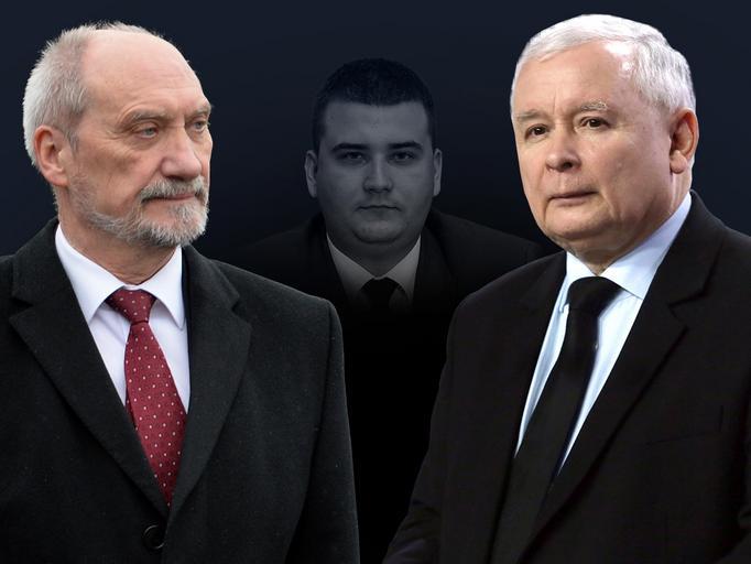 macierewicz kaczyński misiewicz