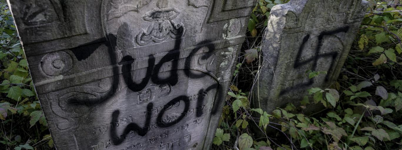 Macewy profanacja kirkut cmentarz żydzi antysemityzm