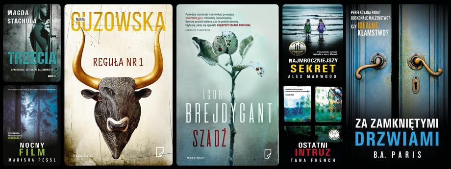 thriller książki