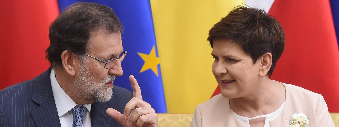 Beata Szydło, Mariano Rajoy