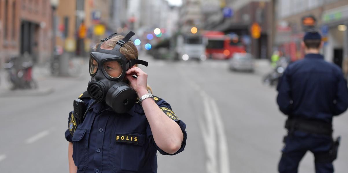 Znalezione obrazy dla zapytania Terror w Sztokholmie