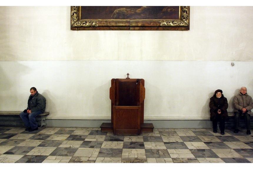 Pusty kościół fot. Tomasz Gzell