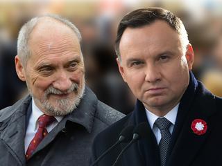 """Prezydent o konflikcie z Macierewiczem: """"Tej sprawy nie rozumiem i ona mnie ogromnie boli"""""""