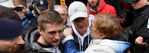Tomasz Komenda niesłusznie skazany areszt wyjście z więzienia