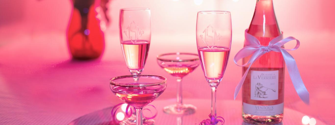 romantyczna kolacja, walentynki