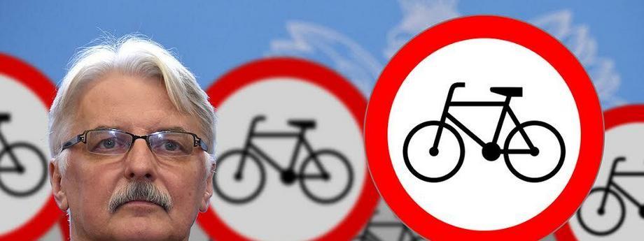 Witold Waszczykowski rower wegetarianizm wywiad bild