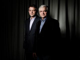 Włodzimierz i Tomasz Cimoszewicz