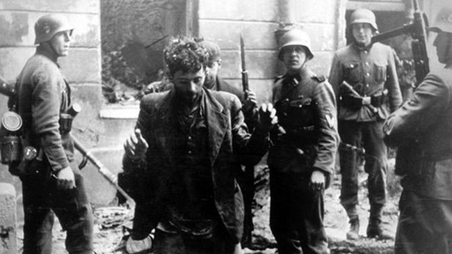 Żydowscy bojownicy pojmani przez Niemców