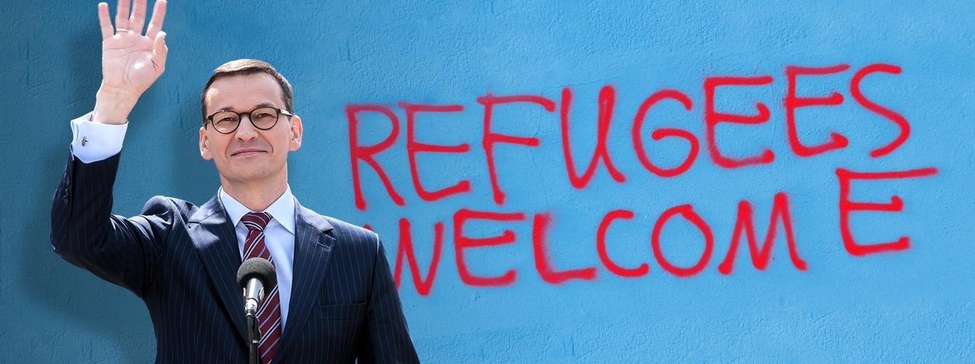 morawiecki uchodźcy