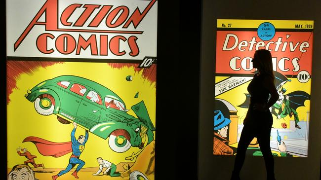 DC Exhibition, Dawn of Super Heroes press view