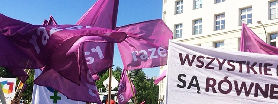 Partia Razem, marsz