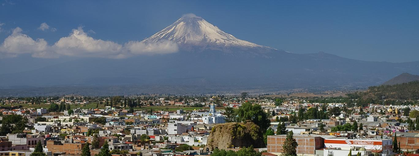 Wulkan Puebla Meksyk