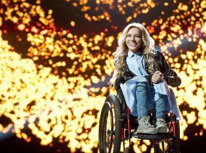 Russian singer Julia Samoylova