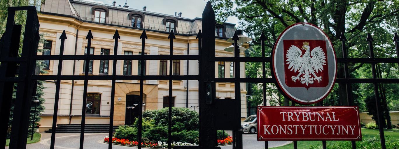 Trybunał Konstytucyjny siedziba sądy wymiar sprawiedliwości sądownictwo